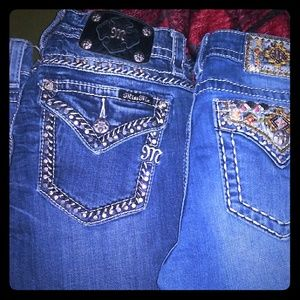 Miss me jeans and rock revivals